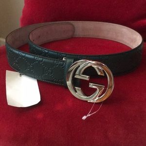 Brand new Gucci signature Lether belt